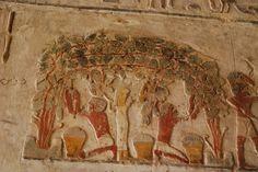 Tumba de Paheri, El Kab, Egipto.