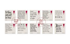 2016 marks 400th anniversary ofShakespeare'sdeath, the Royal Mail invited us to design aset of stamps and presentation packs to commemorate his lasting legacy.