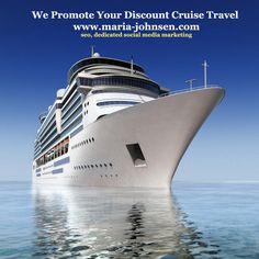 cruise ship travel promotion (SEO. social media marketing, ppc)