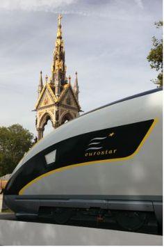 Eurostar Train from London to Paris: Better than Flying?: Eurostar high-speed train, the new luxury travel way to get from London to Paris or Brussels.