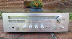 Vintage 1970s Akai AA-1030 Stereo Receiver Japan Working NICE #Akai