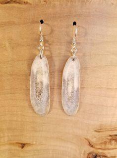 Blue Water Earrings by dears Non-Tarnish Sterling Silver French Hook Ear Wire