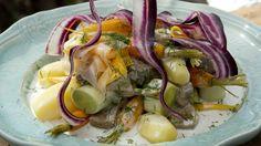 Dillkjøtt med syltede gulrøtter