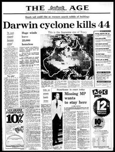 The Age ~ Cyclone Tracy.