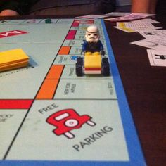 Lets kids create game pieces that reflect their personalities. Just one example of a way to customize Monopoly. #familygamenight
