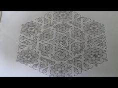 Indian Rangoli Designs, Small Rangoli Design, Rangoli Border Designs, Rangoli Designs With Dots, Rangoli Designs Images, Rangoli With Dots, Beautiful Rangoli Designs, Simple Flower Design, Simple Flowers