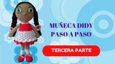 MUÑECA AMIGURUMI DIDY PASO A PASO (TERCERA PARTE)