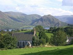 Loweswater-St Bartholemew, where my ancestors lived Lake District, United Kingdom, Saints, England, The Unit, Mountains, Mansions, House Styles, Nature
