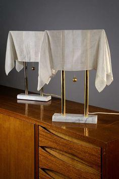 "Pair of ""Nefer"" table lamps by Kazuhide Takahama for Sirrah"