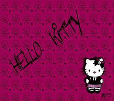 Pink H K Wallpaper Ursula Freeman  C2 B7 Awesomeo Kitty Patterns