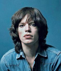 Mick Jagger, Paris, January 1971, by Jean-Marie Périer.