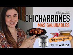 Cómo preparar *CHICHARRONES más saludables   EASY FRY de IMUSA  Chicharrón SIN ACEITE - YouTube Air Flyer, Fries, Easy, Breakfast, Food, Youtube, Pork Belly, Fast Recipes, Cook