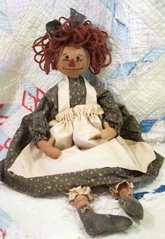 - Old Abby Ann epattern - Doll Street Dreamers -online doll classes, e-patterns, mixed media art classes, free doll patterns and more