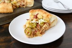 BBQ Chicken Deluxe Pan Pizza – Two Peas & Their Pod