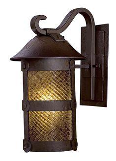 Minka Lavery Lander Heights 1 Light Outdoor Wall Lantern Size: H x W x D Outdoor Barn Lighting, Backyard Lighting, Outdoor Ceiling Fans, Outdoor Wall Lantern, Outdoor Wall Sconce, Rustic Lighting, Exterior Lighting, Wall Sconce Lighting, Outdoor Walls