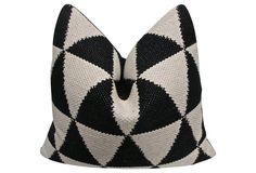 (FI)home collection  by Fragments Identity Handwoven  & Belgian Velvet Pillow. SHOP fragments identity@onekingslane.com