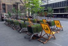 Pop-Up mobile urban forest. Gloucestershire Resource Centre http://www.grcltd.org/scrapstore/