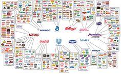 Associated British Foods (ABF), Coca-Cola, Danone, General Mills, Kellogg's, Mars, Mondelez International (ex Kraft Foods), Nestlé, PepsiCo e Unilever. Secondo Oxfam sono loro a controllare tutta la filiera della produzione[Continua...]