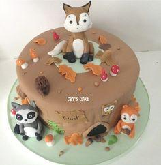 Gâteau Animaux de la forêt 2