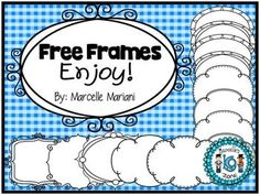 This package consists of 23 cover page frames you can use on your various teaching resources. I made some of these for end of the year invitations (the filigree style ones worked perfectly for that). I hope you ENJOY! IF YOU GRAB THIS, PLEASE CONSIDER LEAVING FEEDBACK- I WOULD GREATLY APPRECIATE IT!PLEASE CHECK MY STORE FOR MORE FREE CLIPART!Credit Note: The fonts used on the cover page are from KB3Teach under commercial licenseIf you have any questions or concerns, please do not hesitate...