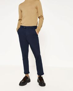 Image 2 of PLUSH TROUSERS from Zara