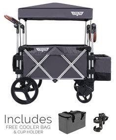 Keenz 7S Stroller Wagon, Grey