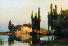 Landscape Lev Lagorio - 1886