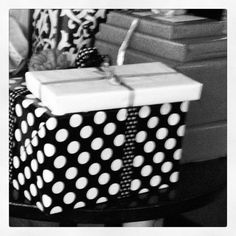 A polka dot present for you!
