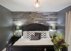 Stikwood Reclaimed Weathered Wood in Bedroom