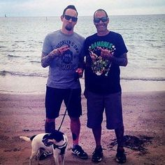 #fbf just 3 dudes in Enø Denmark. #volbeatcrew #volbeat