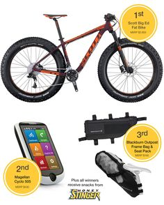 Announcing the Winners of the Scott Spring into Adventure Contest