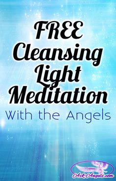 I am happy to share this powerful cleansing and light meditation, channeled with the Guides and Angels of the Light with you! It's now available in written or .MP3 format… Completely free!