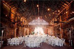 pretty barn wedding!
