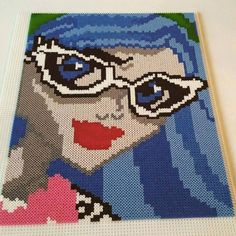 Ghoulia Yelps - Monster High nabbi beads by Cintra Josefine - Pattern: https://www.pinterest.com/pin/374291419007198910/