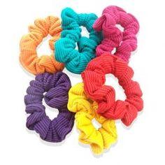 Colourful Hair Scrunchies