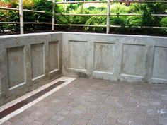 images about Concrete retaining wall on Pinterest