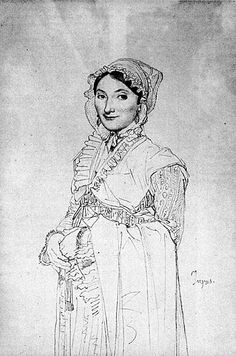 Learn more about Madame Charles Hayard, born Jeanne Susanne Jean Auguste Dominique Ingres - oil artwork, painted by one of the most celebrated masters in the history of art. Drawing Sketches, Art Drawings, Sketching, Jean Leon, Lazuli, Auguste, Dominique, Jeanne, Art Database