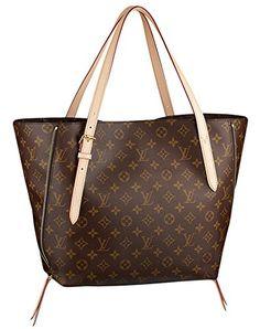 Louis Vuitton Voltaire Monogram Canvas Handbag Shoulder Bag Tote Purse
