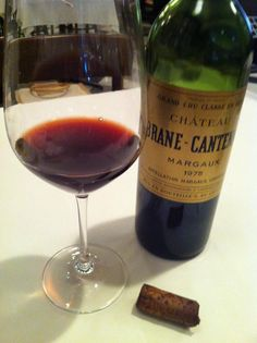 Margaux 1975  photo-wata  old vintage wine.