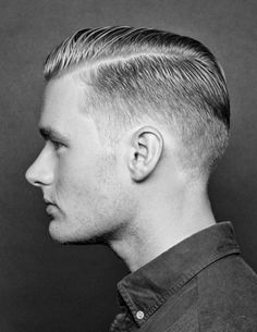 Classic Side Part Haircut | slight variation from the above haircut is keeping the sides short ...