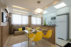 Integrando Sala de Jantar e Cozinha - http://blogdamrv.com.br/dicas/integrando-sala-de-jantar-e-cozinha/