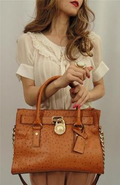 MK Hamilton in Brown Ostrich - just ordered and it's on the way!!! Yeaaah!