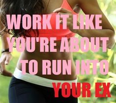 LOL !!! I guess this is one way to get inspired! #fitness #quotes #inspiration