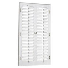 Shop Custom Size Now By Levolor 35 In W X 64 In L White Faux Wood 2 In Slat  Room Darkening Plantation Blinds At Lowes.com | Future Home Ideas |  Pinterest ...