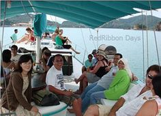 A fantastic, all-round, soft Geopark adventure cruise, for all ages, aboard a beautifully maintained sailing yacht! A perfect full day's adventure if you'd like to experience some brilliant sailing and take in some of the best flora and fauna of Langkawi's outlying islands without too much effort but with exceptional style.  http://www.redribbondays.com.my/outdoor/langkawi-geopark-adventure-day-cruise-for-group-of-6.html#