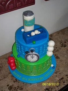 Taylor's Minute to Win It | this was the cake before the sta… | Flickr