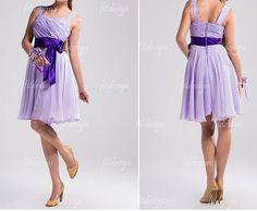 lavender bridesmaid dress short bridesmaid dress by fitdesign, $89.00