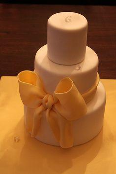 Mini stacked birthday cake by Andrea's SweetCakes, via Flickr