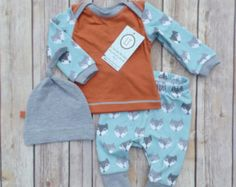 Baby boy coming home outfit//Black and by LilTrendiesBoutique