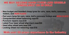 Looking for a reliable, trustworthy garage? Then you've come to the right place! Whether you need a new or part worn tyres, wheel balancing, puncture repairs, four wheel alignment, servicing, brakes and repairs then we have both the expertise and the facilities to take care of your vehicle at Strood Tyre Company give us a call 01634 296266 or visit us on www.stroodtyres.co.uk. Part Worn Tyres, Four Wheel Alignment, Cheap Tires, Tyre Companies, Take Care Of Yourself, Budgeting, Vehicle, Garage, Carport Garage